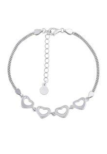 Lắc bạc nữ Bạc Ngọc Tuấn Q91LAU000133