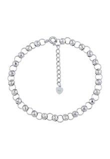 Lắc tay bạc nữ Bạc Ngọc Tuấn E16LAU000055