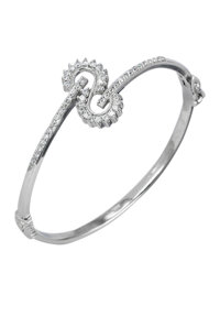 Lắc tay bạc nữ Bạc Ngọc Tuấn T02LAU000156