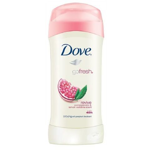 Lăn khử mùi Dove Go Fresh Revive Pomegranate And Lemon Verbena Scent