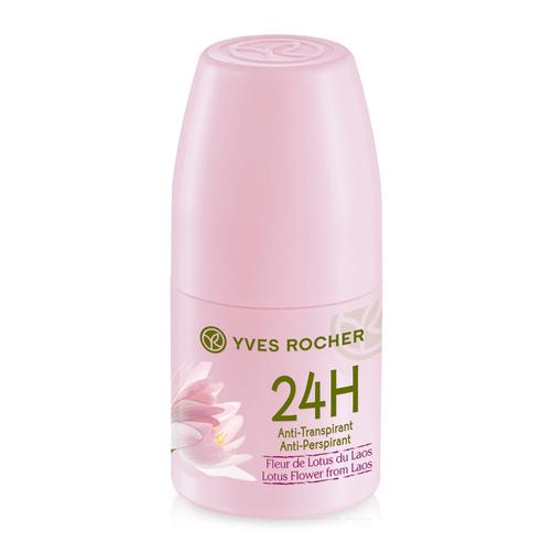 Lăn khử mùi hương hoa sen Yves Rocher 24h Anti-Perspirant Deodorant Lotus Flower From Laos 50ml