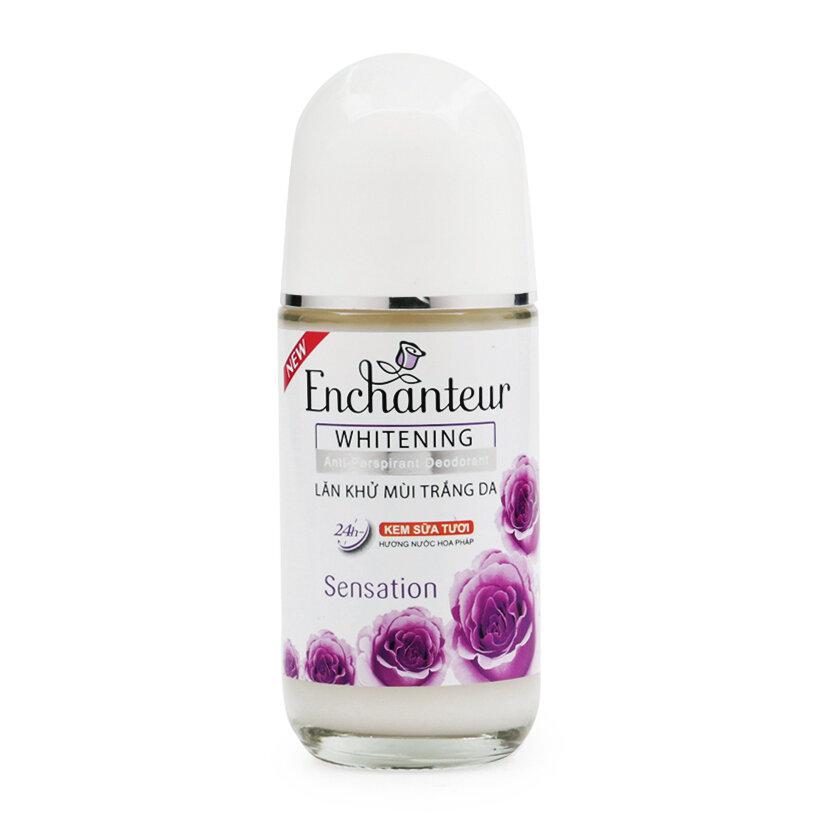 Lăn khử mùi trắng da Enchanteur Whitening Sensation 50ml