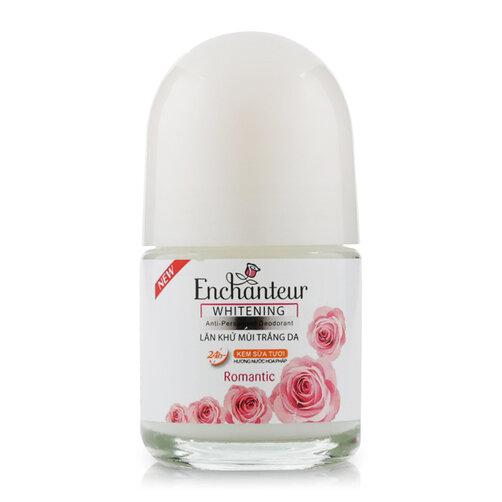 Lăn khử mùi trắng da Enchanteur Whitening Romantic 20ml