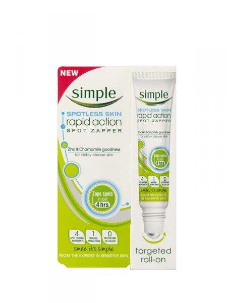 Lăn trị mụn Simple Spotless Skin Rapid Action Spot Zapper 15ml