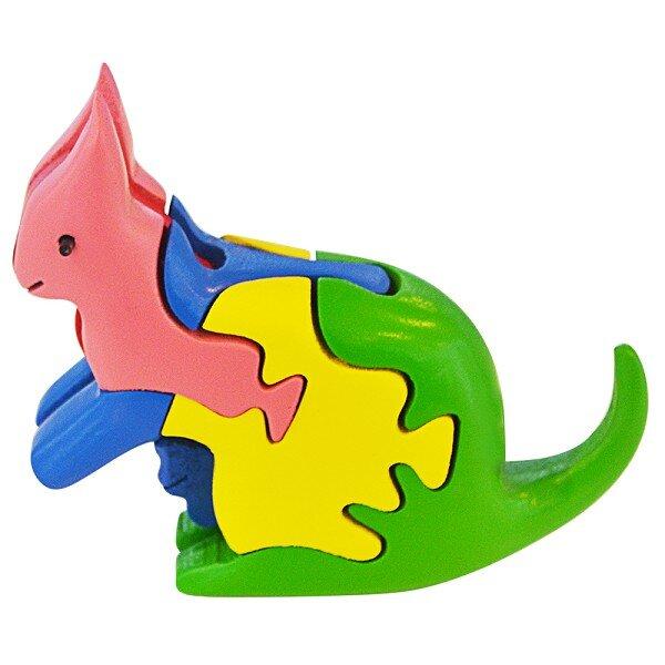 Lắp Ráp Mô Hình Puzzle Tottosi 3D - Kangaroo 304020 (5 Mảnh Ghép)