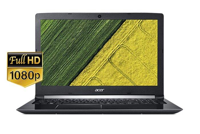 Laptop Acer A515-51G-55J6 - Intel Core i5-7200U, RAM 4GB, HDD 1TB, Intel HD Graphics, 15.6 inch