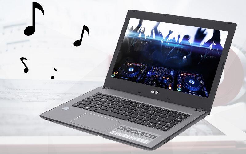 Laptop Acer Aspire E5 476 50SZ - Intel core i5, 4GB RAM, HDD 1TB, Intel UHD Graphics 620, 14 inch