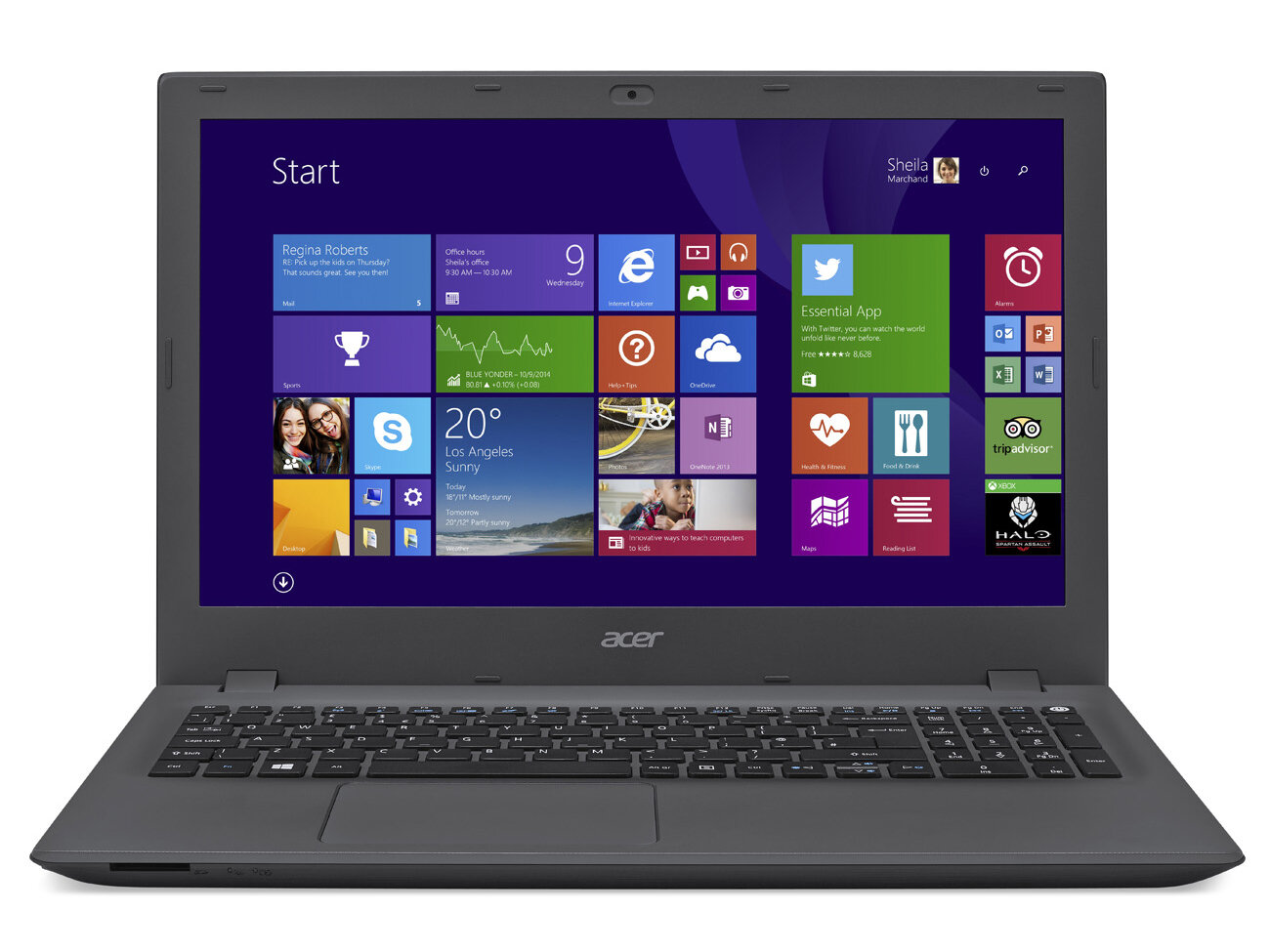 Laptop Acer Aspire E5-573-59YQ NX.MVHSV.009 - Core i5-4210U, Ram 4GB, HDD 500GB