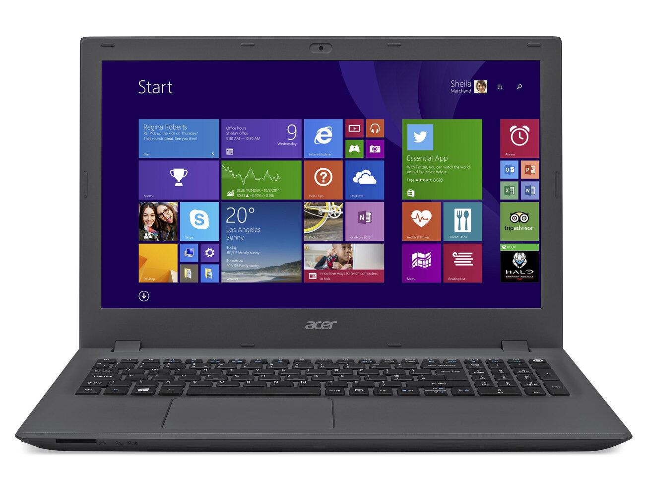 Laptop Acer Aspire E5-491G-51AW NX.GA8SV.002 - Core i5-6300HQ, Ram 4GB, HDD 500GB