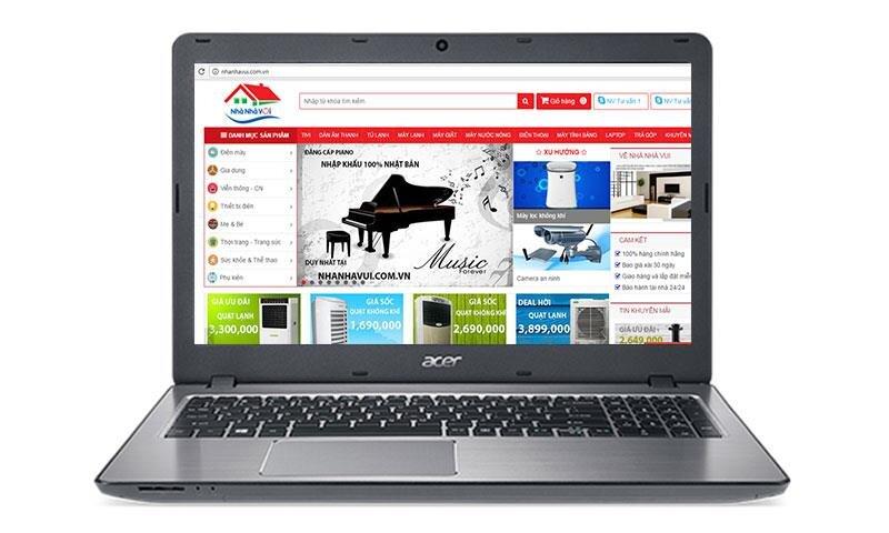 Laptop Acer F5-573G-74XO - Intel i7 7500U, RAM 8GB, HDD 1TB, Intel HD Graphics, 15.6 inch