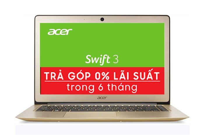 Laptop ACER Swift 3 SF314-51-58CC - Intel Core i5 7200U, RAM 4GB, SSD 256GB, Intel HD Graphics, 14inch