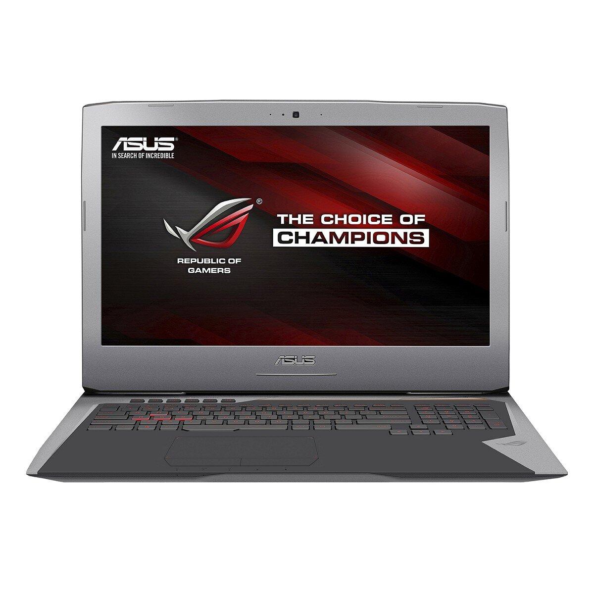 Laptop Asus G701VI-BA018T - Intel Core i7-6820HK, RAM 32GB, SSD 512GB x2, Intel NVIDIA GeForce GTX 1080, 17.3inch