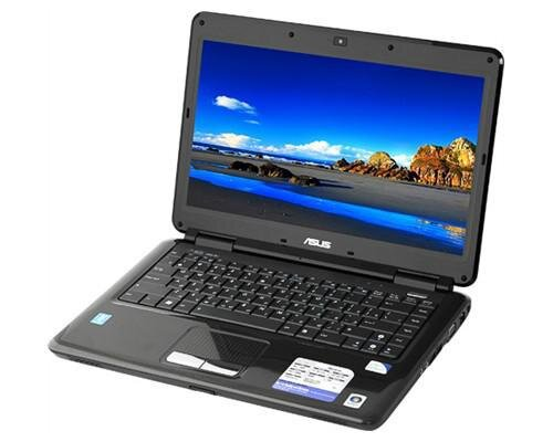 Laptop Asus K40IJ VX104 - Intel Core 2 Duo T6600 2.2Ghz, 2GB DDR2, 320 HDD, VGA Intel GMA 4500MHD, 14 inch