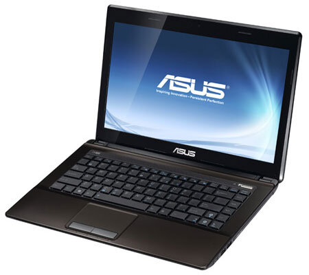 Laptop Asus K43E-VX352 - Intel Pentium B940 2.2Ghz, 2GB RAM, 500GB HDD, Intel HD graphics (Intel GMA HD), 14 inch