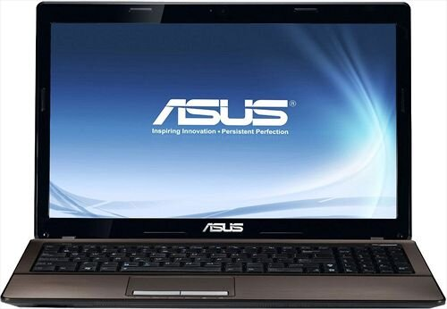 Laptop Asus K53SD-SX139 - Intel Core i5-2450M 2.5GHz, 4GB RAM, 500GB HDD, NVIDIA GeForce 610M, 15.6 inch