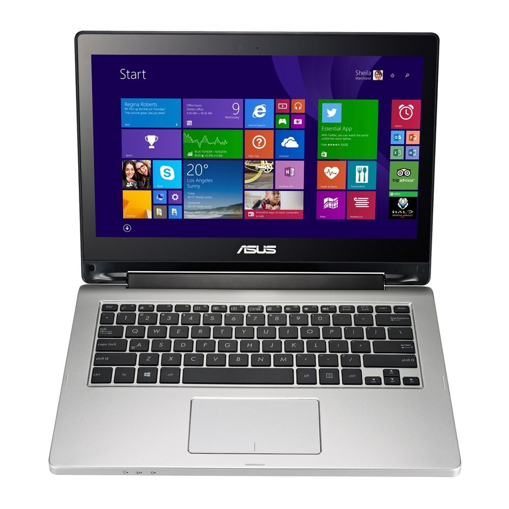 Laptop Asus TP300LA-DW190H - Intel Core i5-5200U 2.2Ghz, 4GB RAM, 500GB HDD, VGA Intel HD Graphics 4400