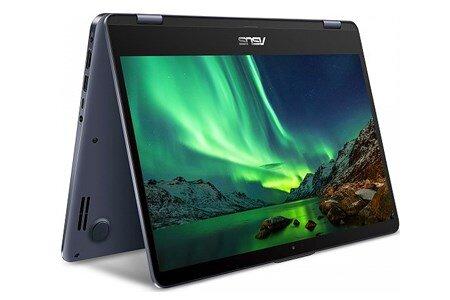 Laptop Asus VivoBook Flip 14 TP410UA-EC250T - Intel core i3, 4GB RAM, HDD 1TB, Intel HD Graphics 620, 14 inch