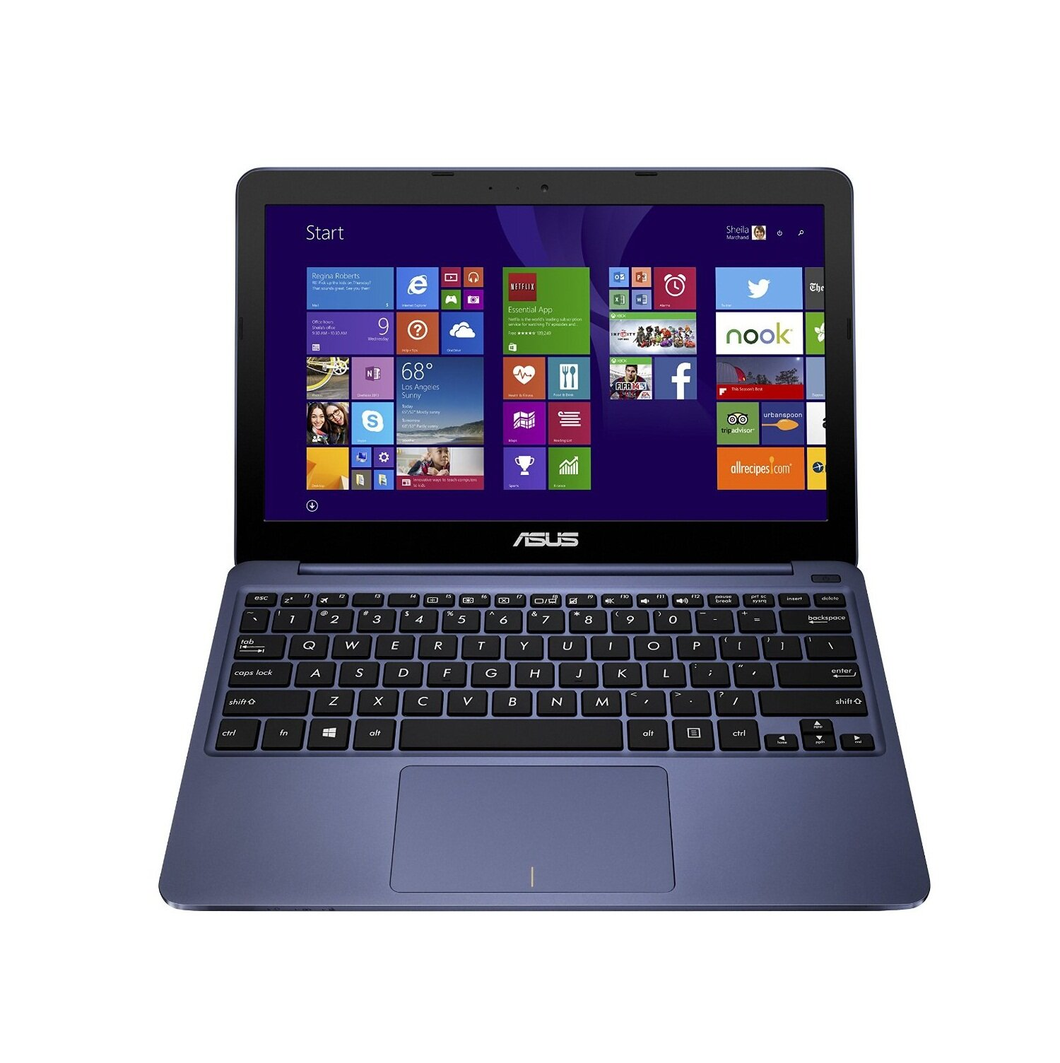 Laptop Asus X205TA-BING FD027BS - Atom, 2Gb RAM, 32Gb SSD, Intel HD Graphics, 11.6Inch