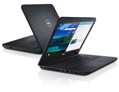 Laptop Dell Inspiron N3437 (NDYKJ1) - Intel core i3-4010U 1.7GHz, 4GB DDR3, 500GB HDD, VGA NVIDIA GeForce GT 320M, 14 inch