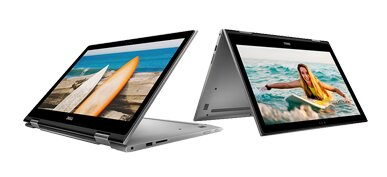 Laptop Dell Inspiron 5368-C3I7507W - Core i7 6500U , RAM 8Gb , 256Gb SSD , Intel HD Graphics 520 , 13.3Inch TouchScreen