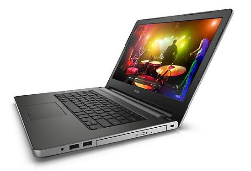 Laptop Dell insprion 5458-M4I3223W - Intel Core i3 4005U 1.7Ghz, 4GB RAM, 500GB HDD, Intel HD Graphics 4400, 14Inh