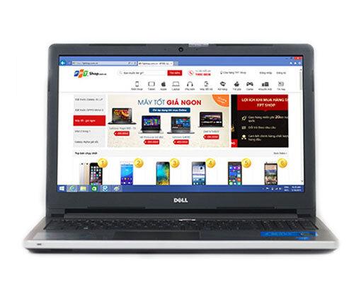 Laptop Dell N5558 - Intel Core i7-5500U 2.4GHz, 8GB RAM, 1TB HDD, Geforce GT920M 4GB, 15.6Inh