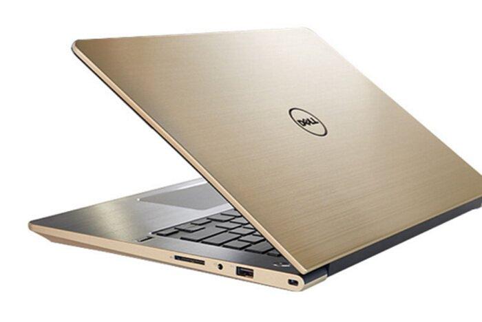 """Laptop Dell Vostro 5459 - VTI31498 (Gold) /i3 - 6100U /4G /500G /14"""""""