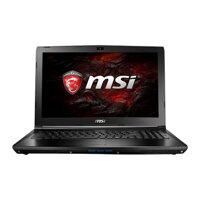 Laptop gaming MSI GL62 7RD-675XVN -  Intel Core i7-7700HQ, RAM 8GB, HDD 1TB, Intel VGA Nvidia GTX1050 2GB, 12.5 inch
