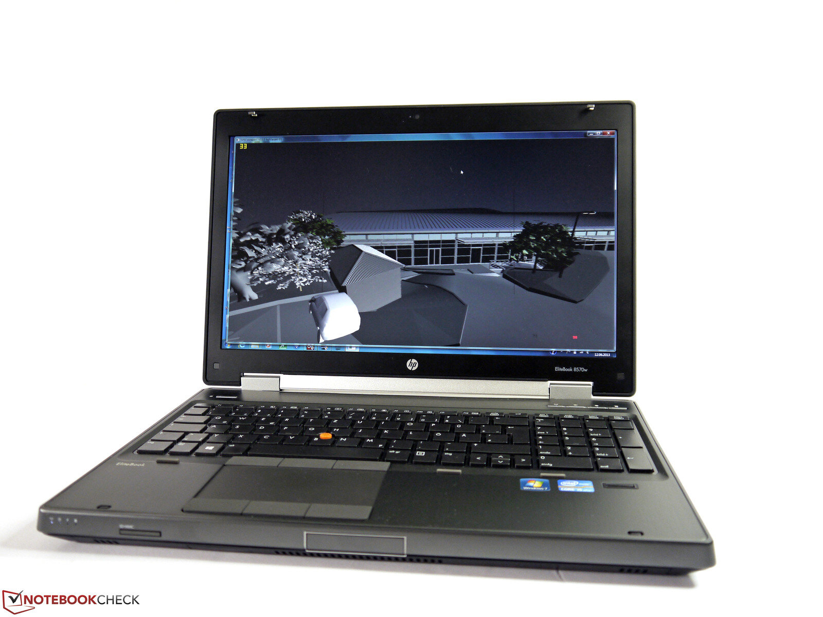 Laptop HP Elitebook 8570W - Intel Core i7-3630QM 2.4GHz, 8GB RAM, 500GB HDD, NVIDIA Quadro K1000M, 15.6 inch