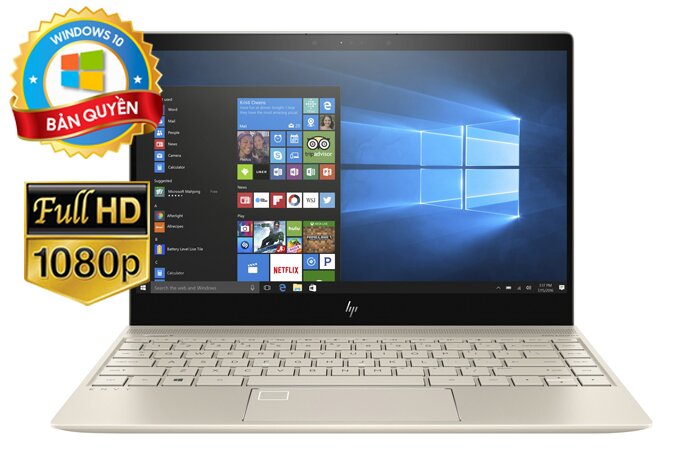 Laptop HP Envy 13-ah0026TU 4ME93PA - Intel core i5, 8GB RAM, SSD 256GB, Intel UHD Graphics 620, 13.3 inch