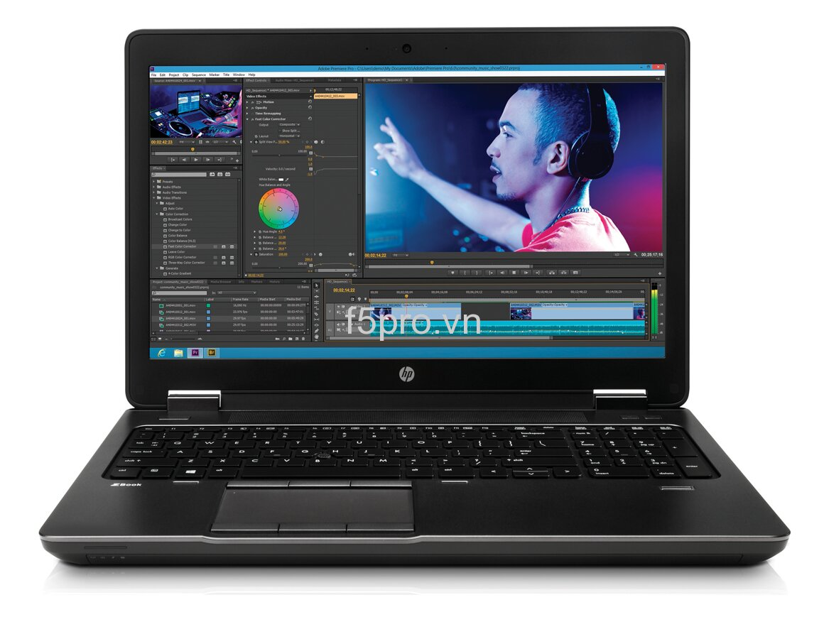 Laptop HP Zbook 15-Workstation (G2R17UP) - Intel Core i5-4330M 2.8Ghz, 8GB RAM, 750GB HDD, Nividia Quadro K1100M-2GB, 15.6 inh