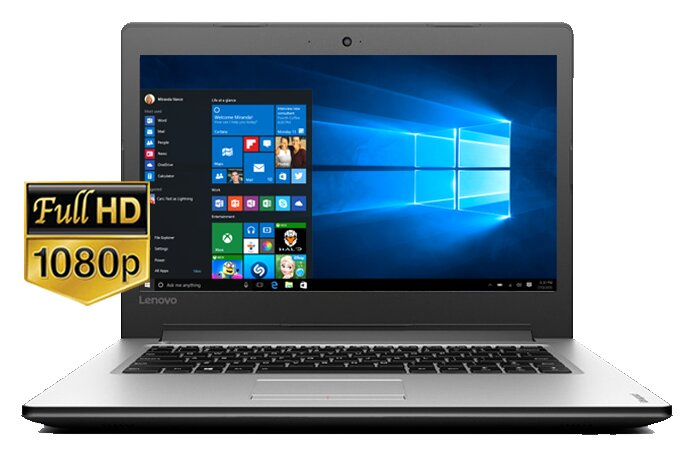 Laptop Lenovo IdeaPad 320-14ISK 80XG001RVN - Intel Core i3 6006U , RAM 4GB, HDD 1TB, Intel HD Graphics 520, 14 inch