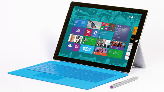 Laptop Microsoft Surface Pro 3 SSD 128GB - Intel Core i5-4300U, RAM 4GB, SSD 128GB, Intel HD Graphics, 12 inch