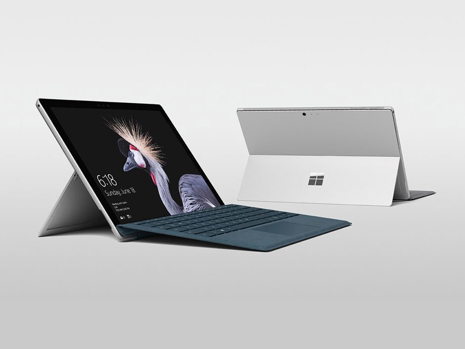 Laptop Microsoft Surface Pro 2017 - Intel core i7, 16GB RAM, SSD 512GB, Intel Iris Plus Graphics 640, 12.3 inch