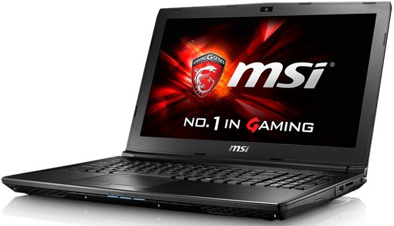 Laptop MSI GL62 6QF 1618XVN - Intel core i5, 8GB RAM, HDD 1TB, Nvidia Geforce GTX960M 2GB GDDR5, 15.6 inch