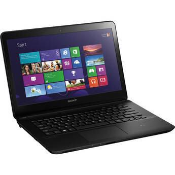Laptop Sony Vaio Fit 14 SVF14214CXB - Intel Core i5-3337U 1.8Ghz, 6GB RAM, 750GB HDD, Intel HD Graphics 4000, 14 inch