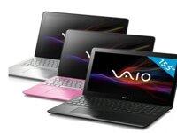 Laptop Sony Vaio Fit SVF-15217SG - Intel Core i3-3227U 1.9GHz, 4GB RAM, 500GB HDD, Nvidia GT740M, 15.5 inch cảm ứng