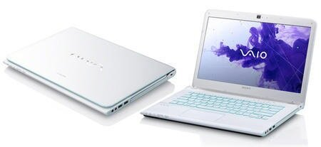 Laptop Sony Vaio SVE14118FX - Intel Core i5-2450M 2.5GHz, 8GB RAM, 750GB HDD, Intel HD Graphics 3000, 14 inch