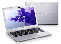 Laptop Sony Vaio T Series SVT14126CV - Intel Core i5-3337U 1.8GHz, 4GB RAM, 24GB SSD + 500GB HDD, Intel HD Graphics 4000, 14 inch cảm ứng