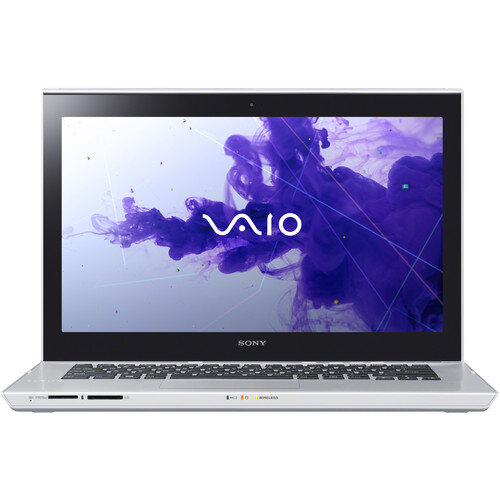 Laptop Sony Vaio T Series SVT1412ACX - Intel Core i7-3537U 2.0GHz, 6GB DDR3, 500GB HDD, VGA Intel HD Graphics 4000, 14 inch