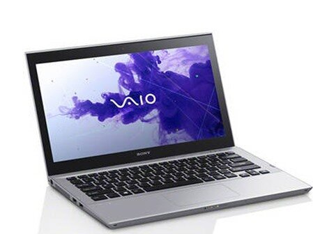 Laptop Sony Vaio T Series SVT13136CX - Intel Core i5-3317U 1.7GHz, 6GB RAM, 32GB SSD + 500GB HDD, Intel HD Graphics 4000, 13.3 inch