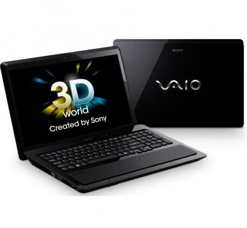Laptop Sony Vaio VPC-F237HG - Intel Core i7-2860QM 2.3GHz, 8GB RAM, 640GB HDD, VGA NVIDIA GeForce GT 540M, 16 inch