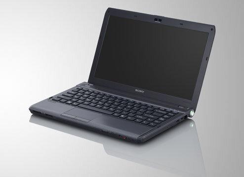 Laptop Sony Vaio VPCS115FG (Intel Core i3-330M 2.13GHz, 4GB RAM, 320GB HDD, VGA NVIDIA GeForce G 310M, 13.3 inch, Windows 7 Home Premium)