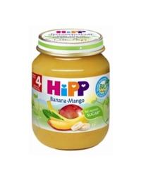 Dinh dưỡng đóng lọ HiPP chuối xoài 125g
