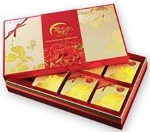 Hộp bánh trung thu Kinh đô Trăng Vàng Bạch Kim Đắc Lộc 6 bánh + 1 hộp ...