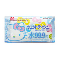 Lec- Giấy ướt nước tinh khiết 99,9% Hello Kitty SS237