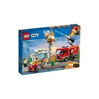 Lego City - Cứu hỏa tiệm bánh Burger 60214