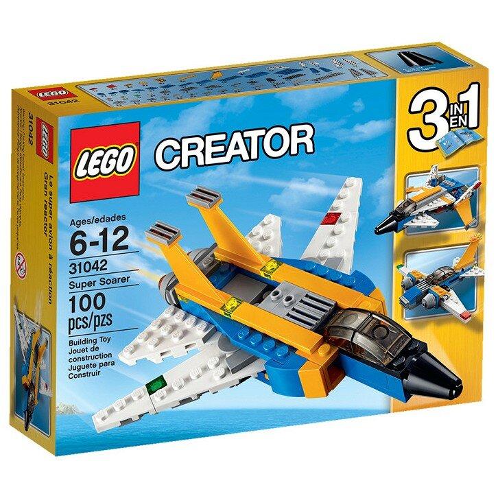 Lego Creator 31042 - Siêu Máy Bay Phản Lực