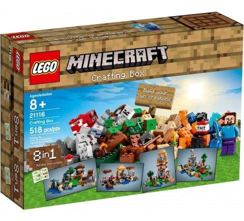LEGO Minecraft 21116 - Hộp Gạch LEGO Minecraft Tổng hợp (LEGO Minecraft Crafting Box 21116)