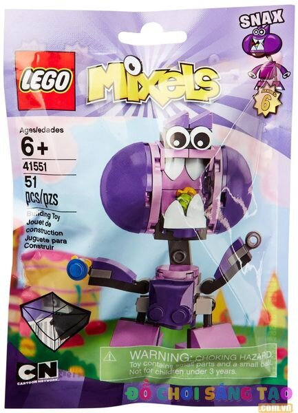 Lego Mixels 41551 - Sinh Vật Snax